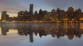new york city. traffic transportation. skyline metropolis. cityscape background