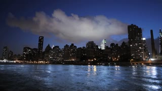 new york time lapse cityscape skyline areal view 1080 HD
