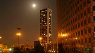 night city urban background. nights mood. city lights. shot in 4k