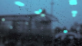 rain day. raining. crying sadness sad. blurred background