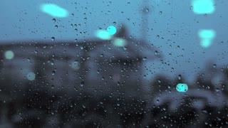 rain day. raining. crying sadness sad. blurred background