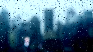 rainy stormy darkness wet weather background. depressed sad background
