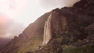 spring water. mountains. fresh water