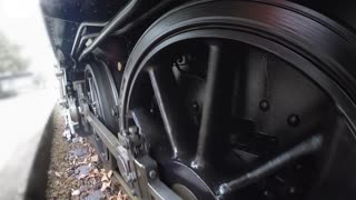 steam engine pov onboard view