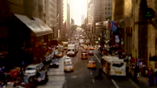 traffic jam in the city at rush hour. cars transportation scene