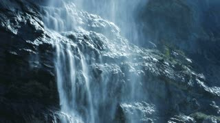 Natural Spring Source Waterfall