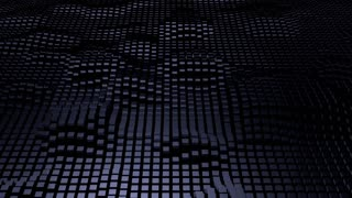 3d  Wavy Squares Surface