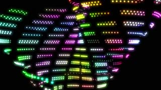 Abstract colorful led lights