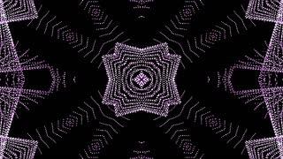 Authentic Pink Jewel Kaleida  Background