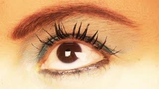 Beautiful Brown Woman Eye