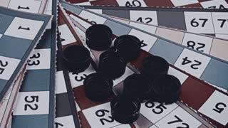 Bingo game-vintage look