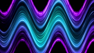 Bright colors wave background