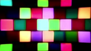 Colorful Blinking Block Lights