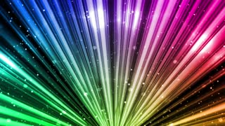Colorful Light Rays and Particles