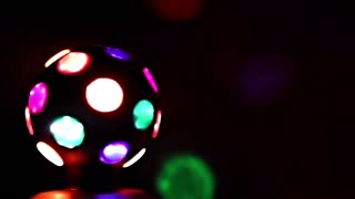 Disco Light Ball in the dark