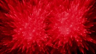 Double Red Particle Explosion