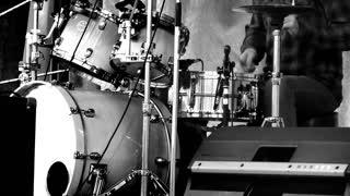 Drummer- black & white