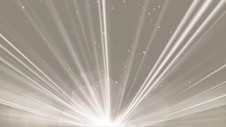 Elegant Magic  Bokeh and Light Rays Background