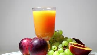 Fresh fruits and fruit juice