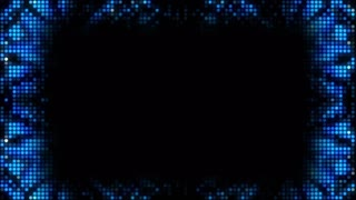 Glittering Blue Lights with Space