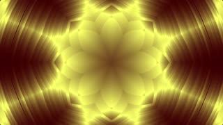 Gold metal kaleida background