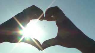 Heart Symbol with Hands