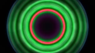 Hypnotic circiles moving background