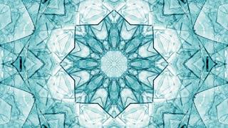 Ice Kaleida Background