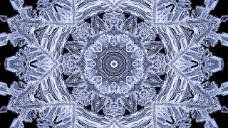 Kaleidoscopic ice background