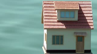Model House and Sea