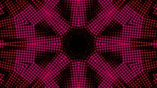 Pink Led Kaleida Background