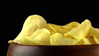 Potato chips rotating 2