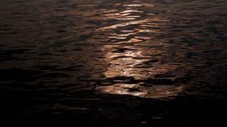 Romantic Sea Reflection