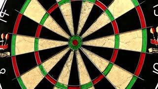 Shot of a dart board