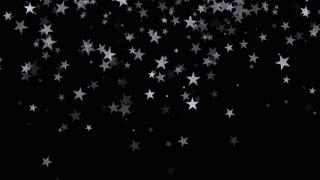 Silver Stars Confetti