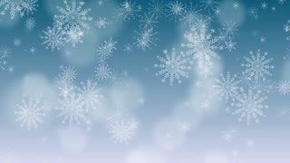 Snow Flakes Background 2