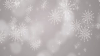 Snow Flakes Background 4