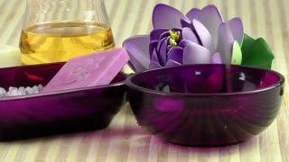 Spa concept -aromatheraphy