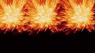 Triple Fire Explosion
