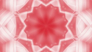 Abstract red white kaleidoscopic animation suited for tv shows, concerts ,music protections , vj projections at parties in night clubs, discos and  trance events.