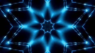 Blue glittering lights background