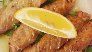 Cabbage wrap-lahana sarma-Traditional Turkish food