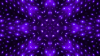 Changing colors led lights kaleidoscopic background
