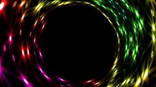 Futuristic tunnel animation
