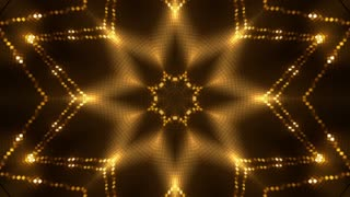 Golden glittering lights background