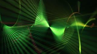 Wavy Laser Lights