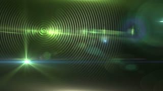 animation - 4K Abstract Motion Background With Lens Flares