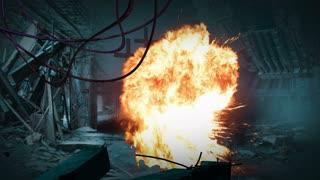 animation  - Post apocalyptic scene