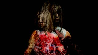 3d rendering animation - Horror Zombie with Effects, mixed media of two CG animation