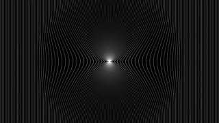 Abstract black and white   Lines Animation Background